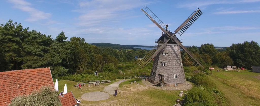 Ausflugsziel Holländer Windmühle in Benz auf Usedom